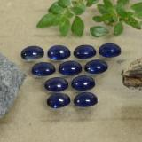 thumb image of 2.8ct Oval Cabochon Blue Sapphire (ID: 471167)