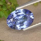 thumb image of 1ct Oval Facet Medium Navy Blue Sapphire (ID: 475614)