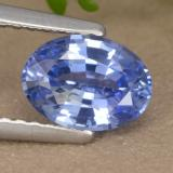 thumb image of 1.1ct Oval Facet Blue Sapphire (ID: 475904)