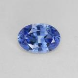 thumb image of 0.8ct Oval Facet Blue Sapphire (ID: 476286)