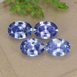 thumb image of 0.8ct Oval Facet Cornflower Blue Sapphire (ID: 476376)