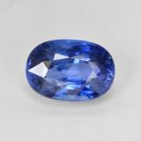 thumb image of 4.8ct Oval Facet Blue Sapphire (ID: 487100)
