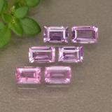 thumb image of 0.7ct Baguette Step Cut Pink Sapphire (ID: 493795)
