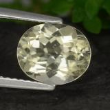 thumb image of 1.9ct Oval Facet Yellow Scapolite (ID: 470182)