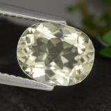 thumb image of 1.9ct Oval Facet Yellow Scapolite (ID: 470190)