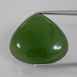 thumb image of 16.8ct Pear Cabochon Green Serpentine (ID: 396182)