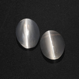 thumb image of 2.5ct Oval Cabochon Smoke Sillimanite Cat's Eye (ID: 409965)
