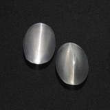 thumb image of 2.3ct Oval Cabochon Smoke Sillimanite Cat's Eye (ID: 409969)