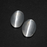thumb image of 2.3ct Oval Cabochon Smoke Sillimanite Cat's Eye (ID: 409990)