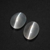 thumb image of 2.2ct Oval Cabochon Smoke Sillimanite Cat's Eye (ID: 409998)