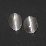 thumb image of 2.6ct Oval Cabochon Smoke Sillimanite Cat's Eye (ID: 410063)