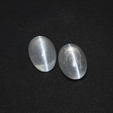 thumb image of 2ct Oval Cabochon Smoke Sillimanite Cat's Eye (ID: 410071)