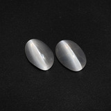 thumb image of 2.5ct Oval Cabochon Smoke Sillimanite Cat's Eye (ID: 410073)