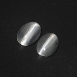 thumb image of 2.5ct Oval Cabochon Smoke Sillimanite Cat's Eye (ID: 410079)
