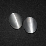 thumb image of 3.3ct Oval Cabochon Smoke Sillimanite Cat's Eye (ID: 410172)