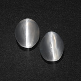 thumb image of 3.1ct Oval Cabochon Smoke Sillimanite Cat's Eye (ID: 410179)