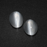thumb image of 3.1ct Oval Cabochon Smoke Sillimanite Cat's Eye (ID: 410180)
