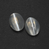 thumb image of 3.1ct Oval Cabochon Smoke Sillimanite Cat's Eye (ID: 410205)