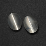 thumb image of 2.1ct Oval Cabochon Smoke Sillimanite Cat's Eye (ID: 410292)