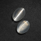 thumb image of 2.5ct Oval Cabochon Smoke Sillimanite Cat's Eye (ID: 410295)