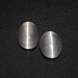 thumb image of 2.3ct Oval Cabochon Smoke Sillimanite Cat's Eye (ID: 410343)