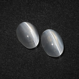 thumb image of 2.4ct Oval Cabochon Smoke Sillimanite Cat's Eye (ID: 410344)