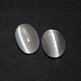 thumb image of 2.9ct Oval Cabochon Smoke Sillimanite Cat's Eye (ID: 410349)