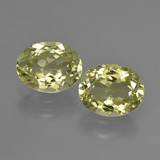 thumb image of 5.2ct Oval Facet Green Yellow Sillimanite (ID: 411278)