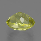 2.50 ct Oval Facet Green Yellow Sillimanite Gem 9.06 mm x 7.2 mm (Photo C)