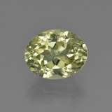 thumb image of 2.8ct Oval Facet Yellowish Green Sillimanite (ID: 411425)