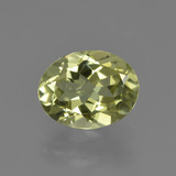 thumb image of 1.8ct Ovale sfaccettato Giallo verde Sillimanite (ID: 411506)