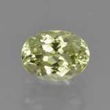 thumb image of 1.6ct Oval Facet Green Yellow Sillimanite (ID: 411527)