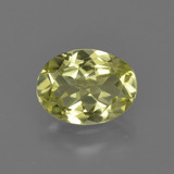 thumb image of 1ct Oval Facet Green Yellow Sillimanite (ID: 411647)