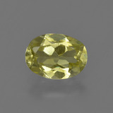 thumb image of 1ct Oval Facet Green Yellow Sillimanite (ID: 411649)