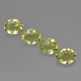 thumb image of 4.4ct Oval Facet Green Yellow Sillimanite (ID: 411722)