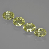 thumb image of 3.5ct Oval Facet Green Yellow Sillimanite (ID: 411725)