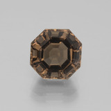 thumb image of 3.7ct Asscher Cut Brown Smoky Quartz (ID: 397419)