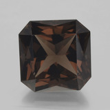 thumb image of 11ct Octagon / Scissor Cut Brown Smoky Quartz (ID: 400877)