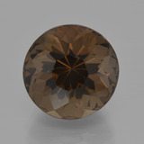 thumb image of 8.8ct Round Petal Cut Brown Smoky Quartz (ID: 401336)