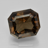 thumb image of 10.3ct Octagon Facet Brown Smoky Quartz (ID: 401429)