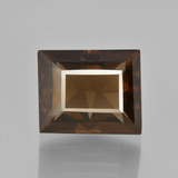 thumb image of 8.7ct Baguette Facet Brown Smoky Quartz (ID: 401483)