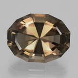 thumb image of 11.2ct Oval Mixed Cut Brown Smoky Quartz (ID: 404301)
