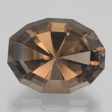 thumb image of 17.3ct Oval Mixed Cut Brown Smoky Quartz (ID: 404378)