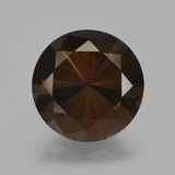 thumb image of 6.4ct Diamond-Cut Brown Smoky Quartz (ID: 407962)