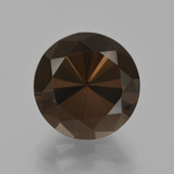 thumb image of 5.8ct Diamond-Cut Brown Smoky Quartz (ID: 407963)