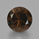 thumb image of 6.1ct Diamond-Cut Brown Smoky Quartz (ID: 407969)