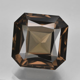 thumb image of 12.3ct Octagon / Scissor Cut Umber Brown Smoky Quartz (ID: 407981)