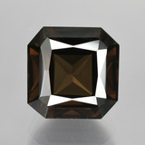 thumb image of 6.4ct Octagon / Scissor Cut Brown Smoky Quartz (ID: 407992)