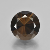 thumb image of 7.3ct Diamond-Cut Brown Smoky Quartz (ID: 408010)