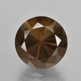 thumb image of 6.3ct Diamond-Cut Brown Smoky Quartz (ID: 408011)